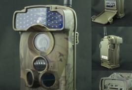 Уличная видеокамера (GSM/MMS/3G, Угол обзора 100°, Запись звука, Датчик движения до 25 метров, В режиме ОЖИДАНИЯ 4-6 месяцев)