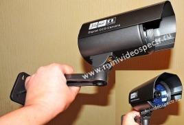Уличная цветная беспроводная видеокамера (до 700-1000 метров) с ночным видением до 50 метров