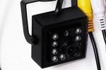 Миниатюрная видеокамера CTV-700 высокого разрешения с ночной подсветкой