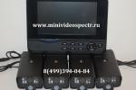 Комплект для видеонаблюдения через интернет (4 видеокамеры и монитор-регистратор)
