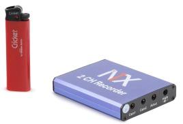 Миниатюрный видеорегистратор (Видео: 2 вход, 1 выход Аудио: 2 вход, 1 выход; Запись на карту до 128 Гб; Детектор движения)
