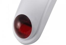 Муляж сигнализации-сирены (красный световой диод) для улицы