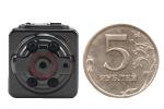 Микрокамера с ночной подсветкой, датчиком движения, записью на карту