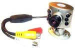 Миниатюрная видеокамера с микрофоном (420 ТВЛ)