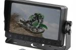 Автомобильный монитор 7 дюймов с записью на карту до 32 Гб (Подключение до 4-х видеокамер)