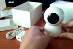 Миникамера для видеонаблюдения через Интернет Wi-Fi (Разрешение: 1920x1080, Угол обзора: 360°, Детектор движения, Динамик, Микрофон, Двухсторонняя аудиосвязь, Односторонняя видеосвязь, Запись видео на MicroSD до 32 Гб)