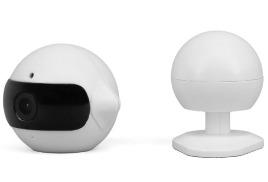 Видеокамера для наблюдения через интернет Wi-Fi (ИК подсветка до 5 м, Детектор движения и шума, Угол обзора 90°, Разрешение 1280x960Р, Двухсторонняя аудио связь, Запись на карту, Отправка сообщений на мобильное устройство)
