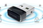 Wi-Fi адаптер с подключением через USB порт